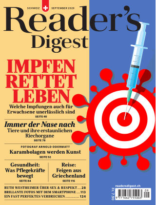 Reader's Digest Schweiz September 2020