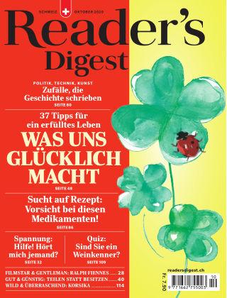 Reader's Digest Schweiz Oktober 2020