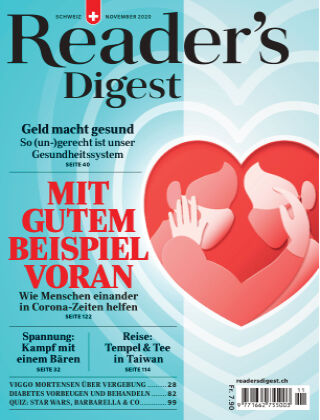 Reader's Digest Schweiz November 2020