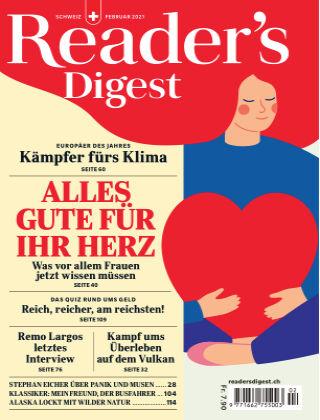 Reader's Digest Schweiz Februar 2021