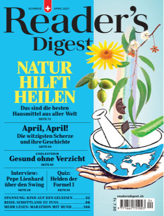 Reader's Digest Schweiz April 2021