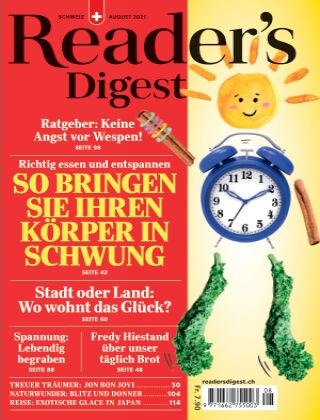 Reader's Digest Schweiz August 2021