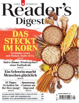 Reader's Digest Schweiz September 2021