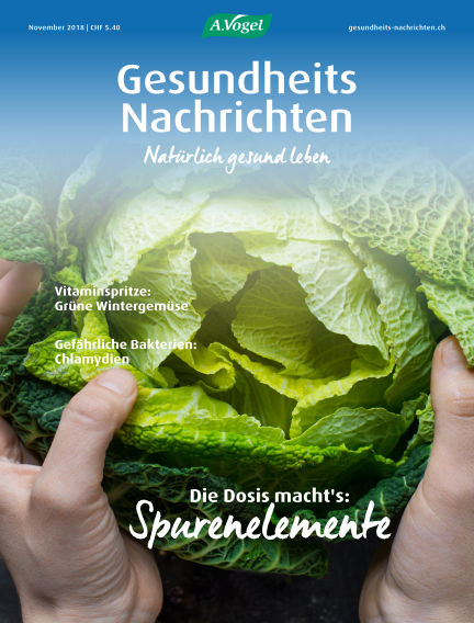 Gesundheits Nachrichten October 30, 2018 00:00