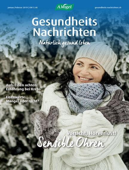 Gesundheits Nachrichten January 09, 2019 00:00