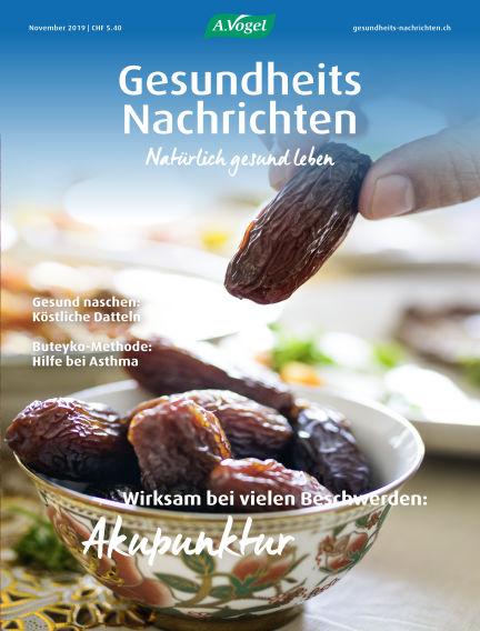 Gesundheits Nachrichten October 30, 2019 00:00