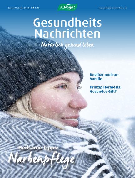 Gesundheits Nachrichten January 08, 2020 00:00