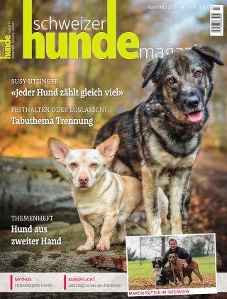Schweizer Hunde Magazin 3/18