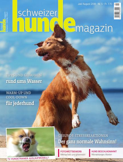 Schweizer Hunde Magazin July 09, 2018 00:00