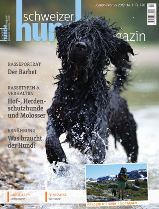 Schweizer Hunde Magazin 1/19