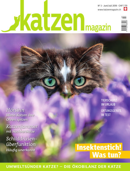 Katzen Magazin July 09, 2018 00:00