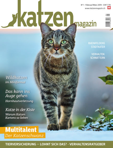 Katzen Magazin January 17, 2019 00:00