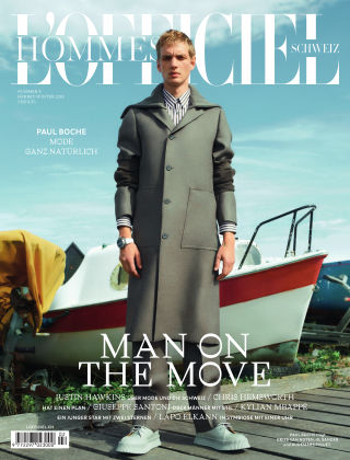 L'Officiel Hommes Schweiz Winter 2018