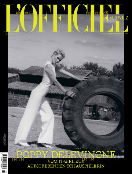 L'Officiel Schweiz  October 17, 2018 00:00