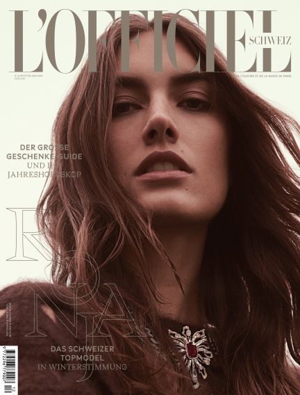 L'Officiel Schweiz  December 20, 2018 00:00