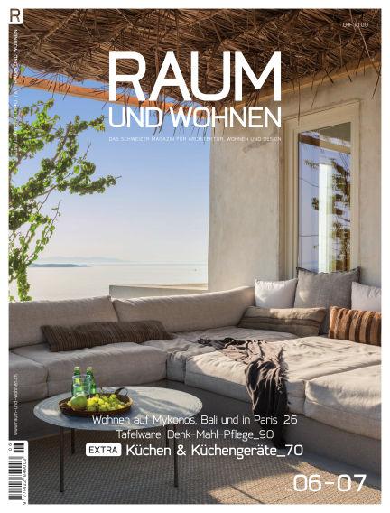 Raum und Wohnen July 08, 2018 00:00