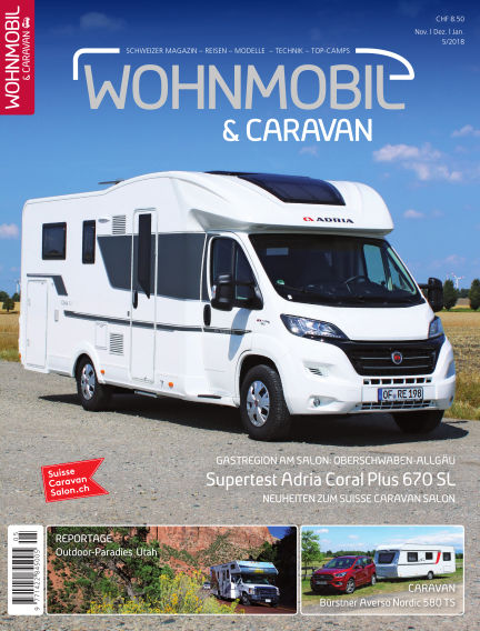 Wohnmobil & Caravan January 28, 2019 00:00