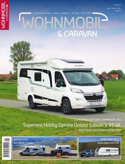 Wohnmobil & Caravan August 08, 2019 00:00