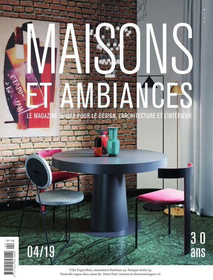 Maisons et Ambiances November 09, 2019 00:00