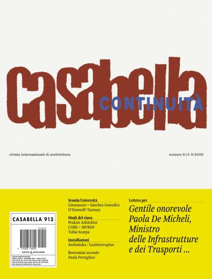 Casabella September 04, 2020 00:00