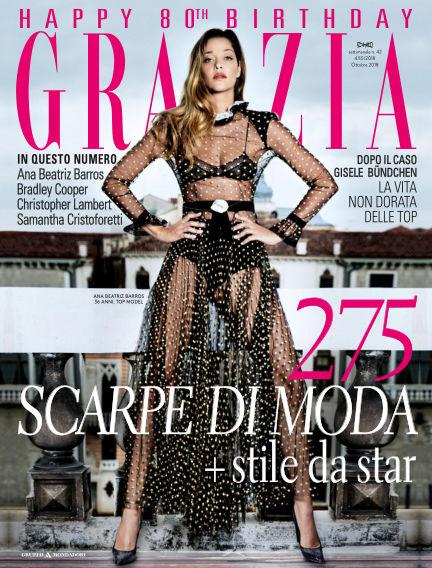 Grazia October 04, 2018 00:00