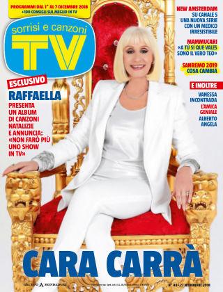 TV Sorrisi e Canzoni 2018-11-27