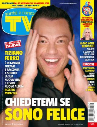 TV Sorrisi e Canzoni 2019-11-26