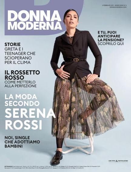 Donna Moderna February 06, 2019 00:00