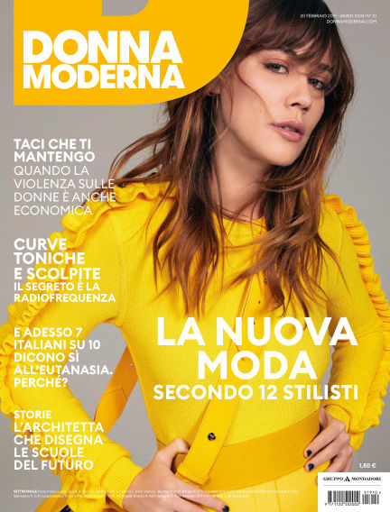 Donna Moderna February 20, 2019 00:00