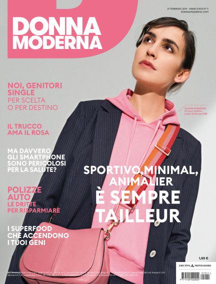 Donna Moderna February 27, 2019 00:00
