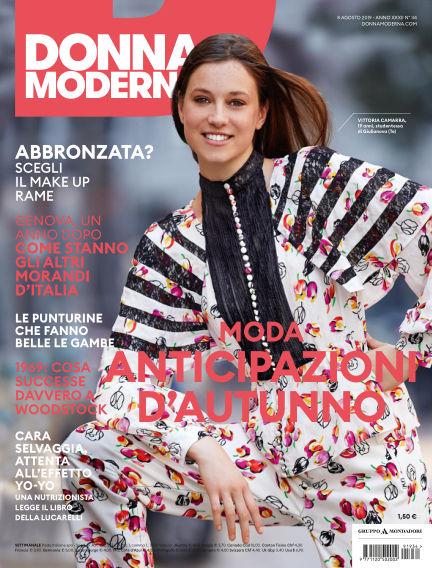 Donna Moderna August 07, 2019 00:00