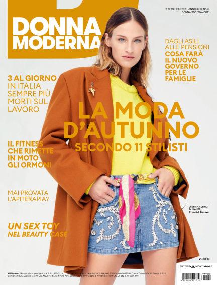 Donna Moderna September 18, 2019 00:00
