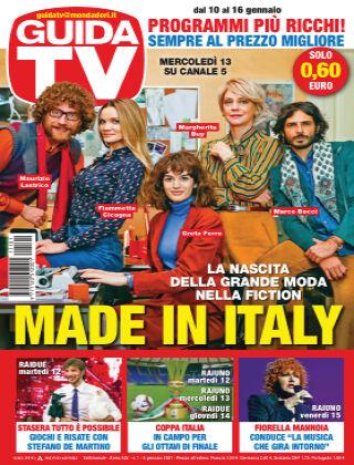 GuidaTV Guida TV 01/2021