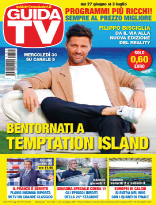 GuidaTV Guida TV 25/2021