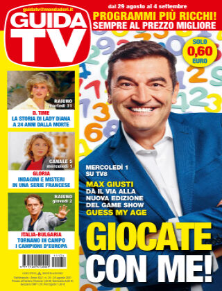 GuidaTV Guida TV 34/2021