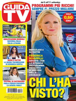 GuidaTV Guida TV 35/2021