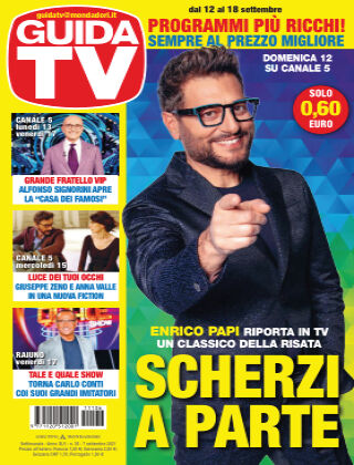 GuidaTV Guida TV 36/2021
