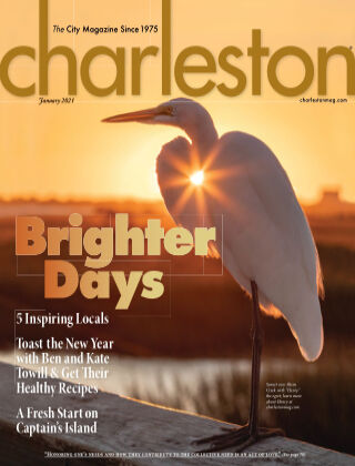 Charleston Magazine January 2021