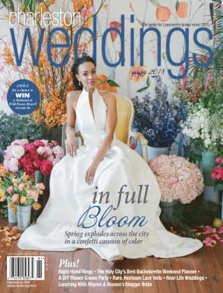 Charleston Weddings Magazine Spring 2018