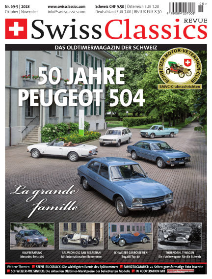 SwissClassics Revue September 25, 2018 00:00