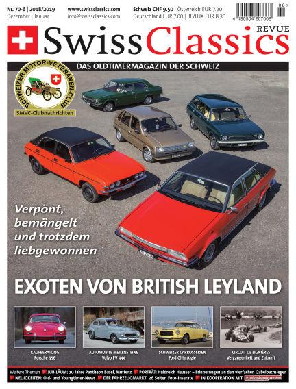 SwissClassics Revue November 24, 2018 00:00