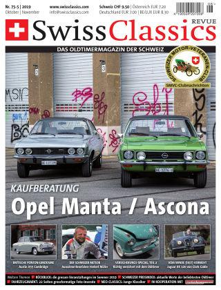 SwissClassics Revue 75-5/2019