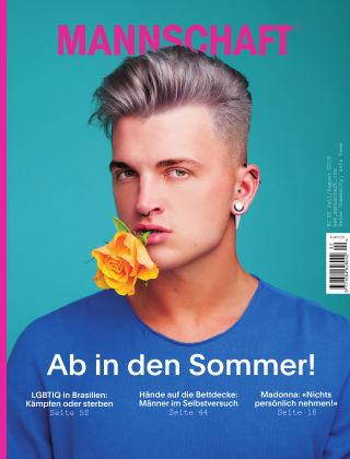 Mannschaft Magazin Juli/August, Nr. 92