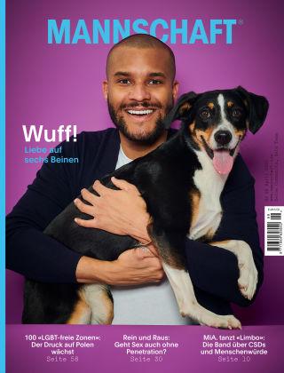 Mannschaft Magazin April, Nr. 99