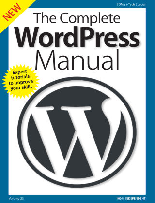 The Complete WordPress Manual Wordpress 2018