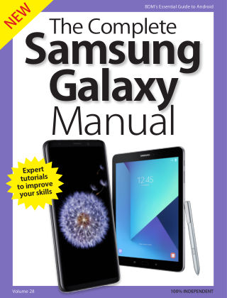 The Complete Samsung Galaxy Manual Samsung Galaxy 2018