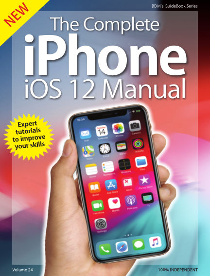 iOS 12 on iPhone Complete Manual September 18, 2018 00:00