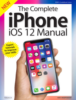 iOS 12 on iPhone Complete Manual iO12 iPhone 2019