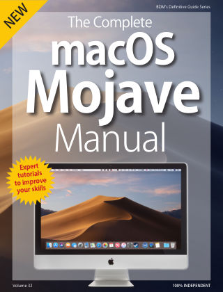 macOS Mojave Complete Manual MacOS
