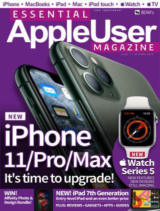 Essential AppleUser Magazine October 2019